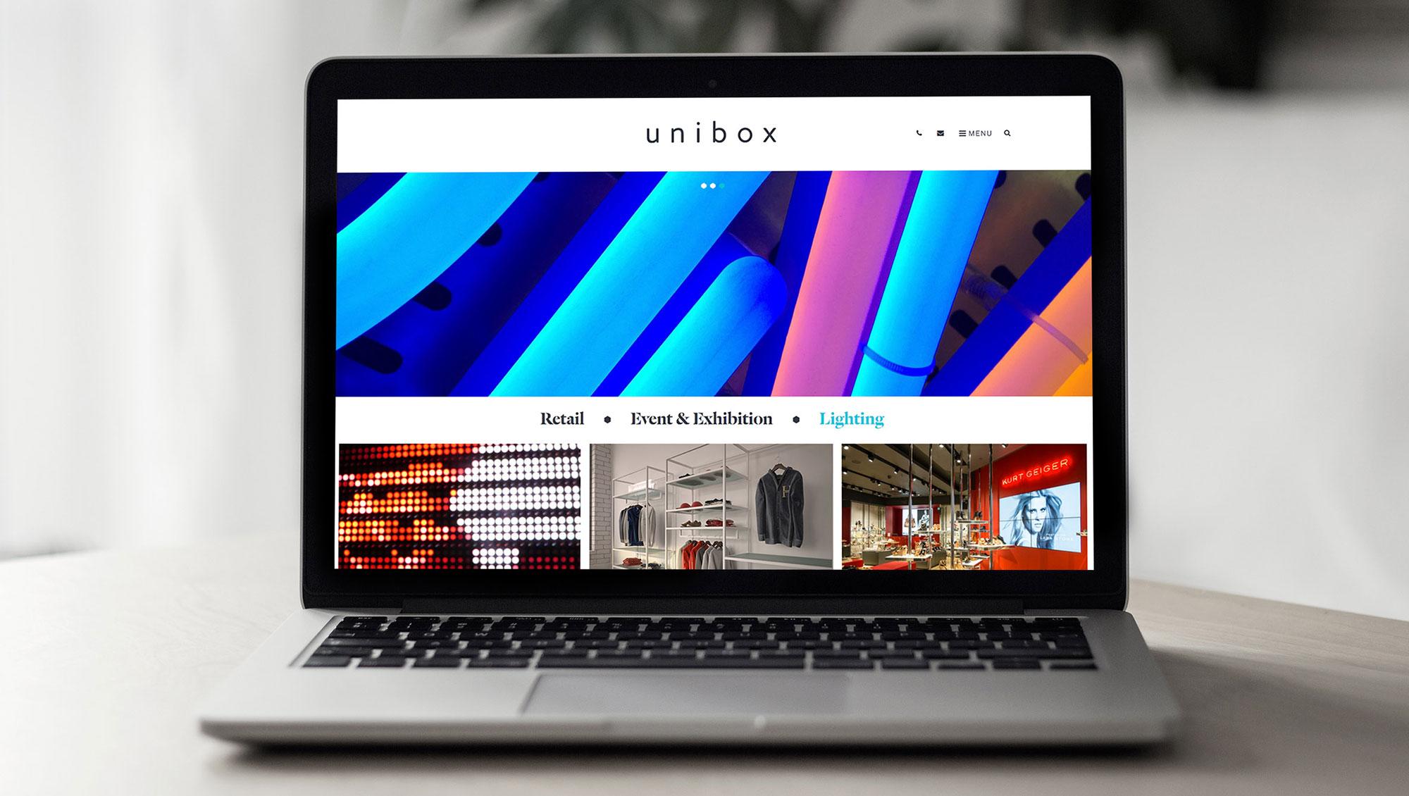 2017 Muse Creative Awards   Unibox Company Branding by Upp B2B