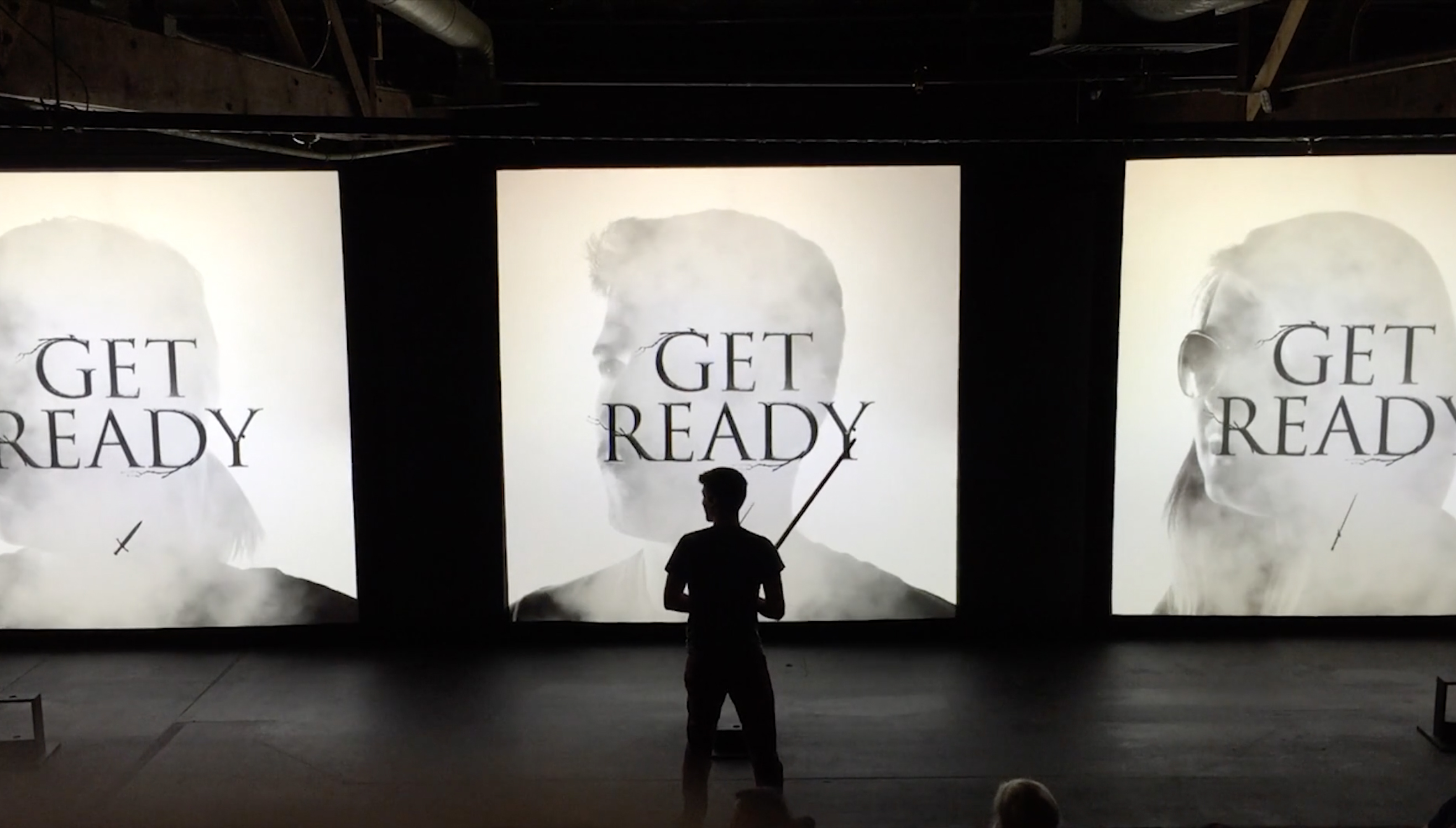 Game of Thrones [Sword Experience] Interactive Art Installation Wins Vega Digital Awards