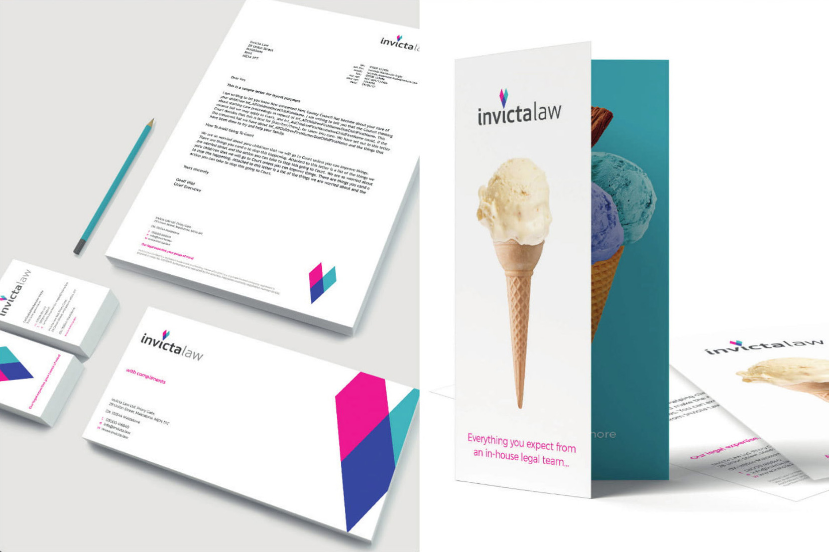 Invicta Law Brand Strategy | Muse Awards