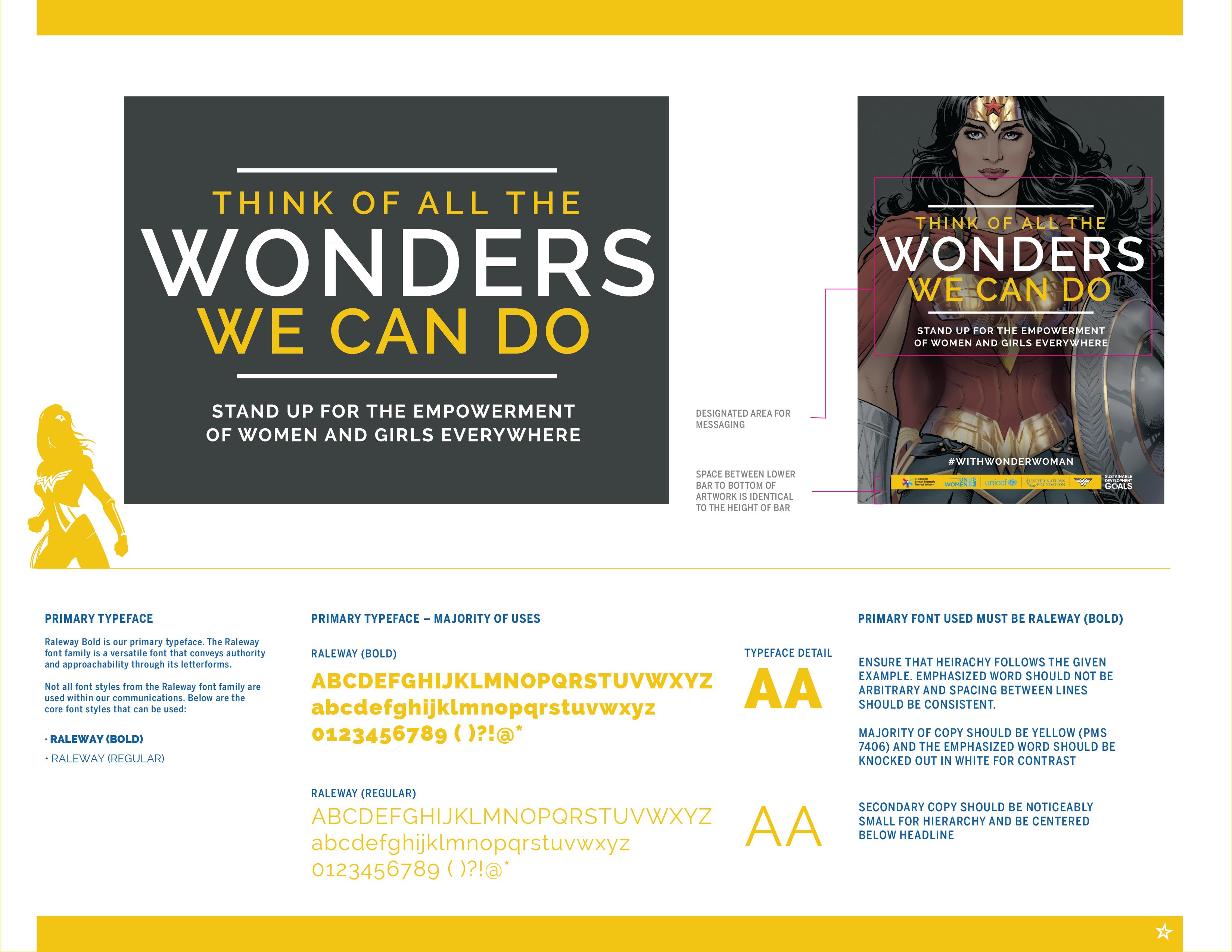 Wonder Woman UN Honorary Ambassador Campaign | Clever Creative