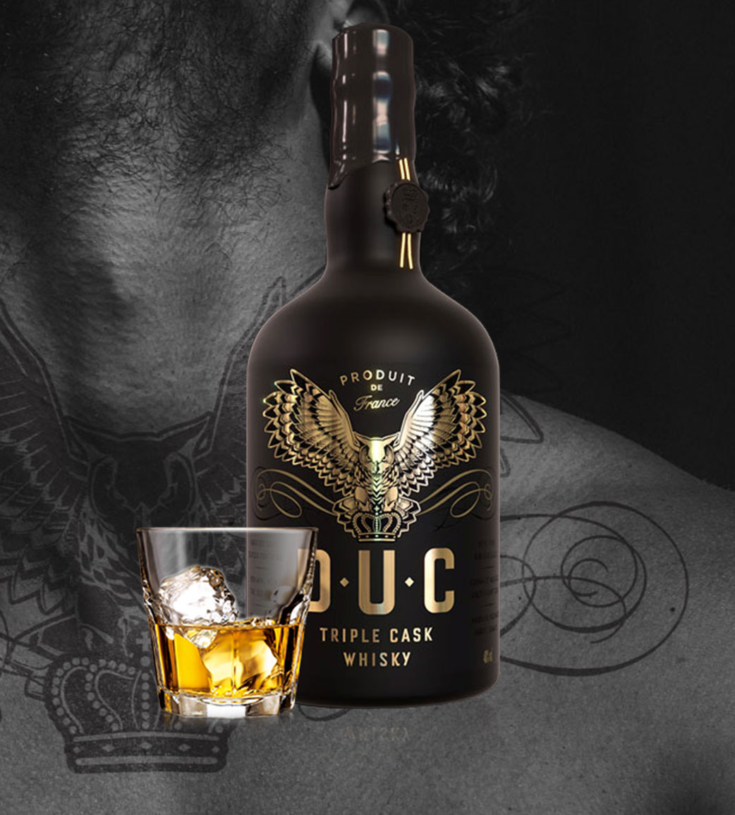 D.U.C Whisky Website   The Brand Collective