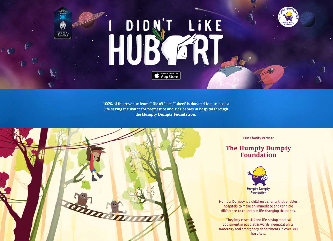 I Didn't Like Hubert | Taste Creative