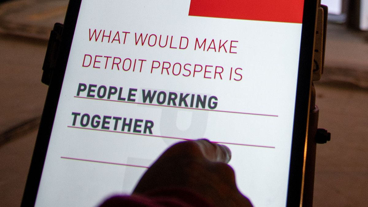For Detroit | Red Paper Heart