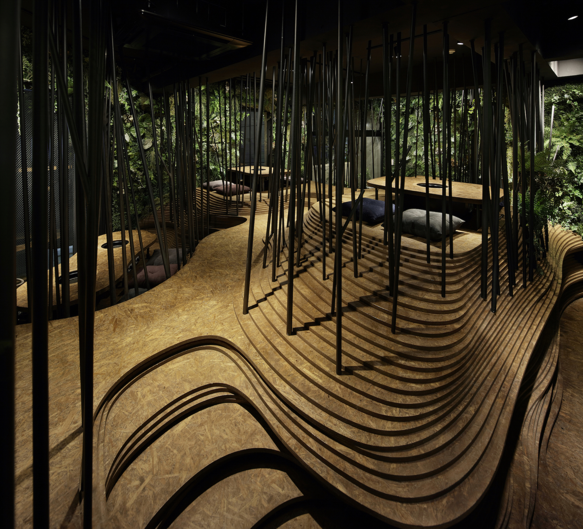 Interior Design of The Year 2019 - NIKUNOTORIKO by Ryoji IEDOKORO ARCHITECTURE OFFICE, Japan