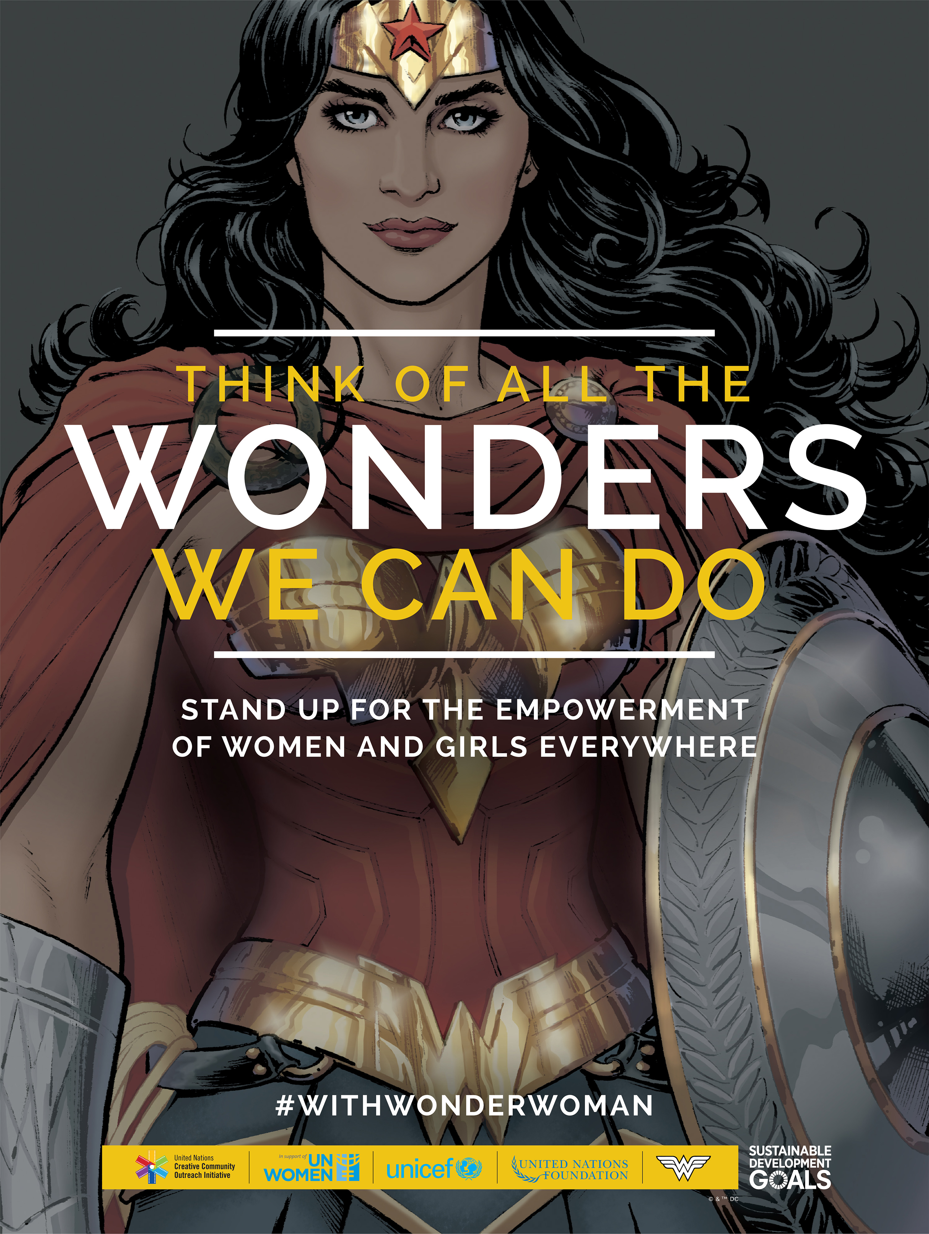 2018 GlobalTrend Awards - Wonder Woman UN Honorary Ambassador Campaign