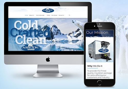 Arctic Vans Website | Jump Creative | Muse Awards