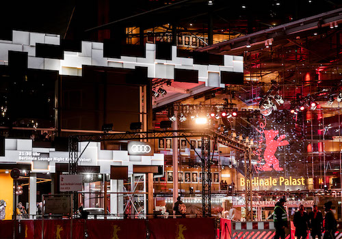 Audi e-tron interactive Berlinale facade | DNM | DREINULLMOTION GmbH | Muse Awards