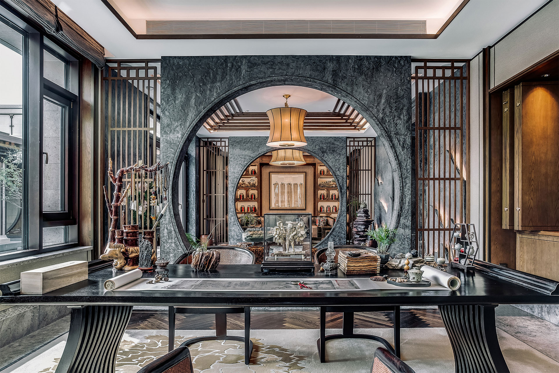 Beijing Shimao Loong Palace Type B Villa | David Chang Design Associates International | Muse Awards