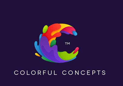 Colorful Concepts Logo | Dario Calonaci | Muse Awards