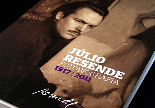 Fotobiografia Julio Resende (1917-2011) book | Omdesign | Muse Awards