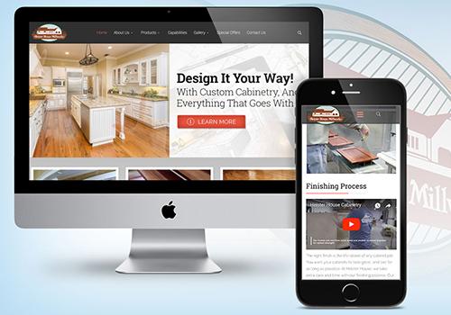 Heister House Millworks Website   Jump Creative   Muse Awards