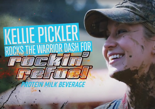 Kellie Pickler Warrior Dash for Rockin' Refuel | TANE | Muse Awards
