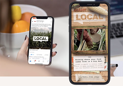 Giant Food Stores Local Campaign | Viscul | Muse Awards