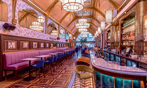 Cafe en Seine | Millimetre Design | Muse Awards