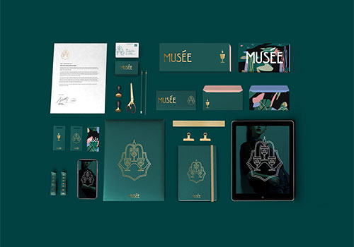 MUSEE Luxury retail branding | Jansword Design | Muse Awards