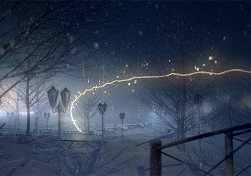 ACADEMIC HEALTHPLANS LIGHTS IN THE PARK CINEMATIC ECARD | Brandora | Muse Awards