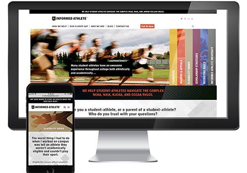 Informed Athlete Website | Weller Smith Design | Muse Awards