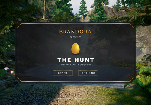 THE HUNT - VR EASTER EGG GAME   Brandora   Muse Awards