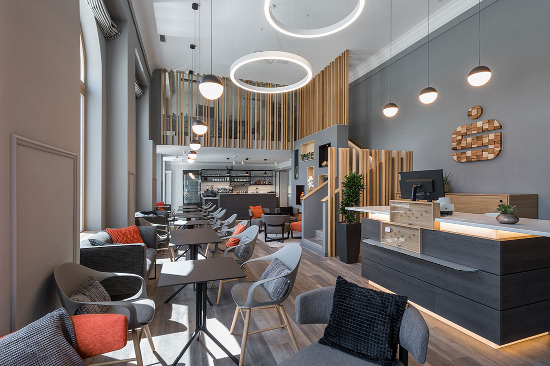 Bank in a Coffee shop or coffee shop in a Bank | mjh-arhitekti | Muse Awards