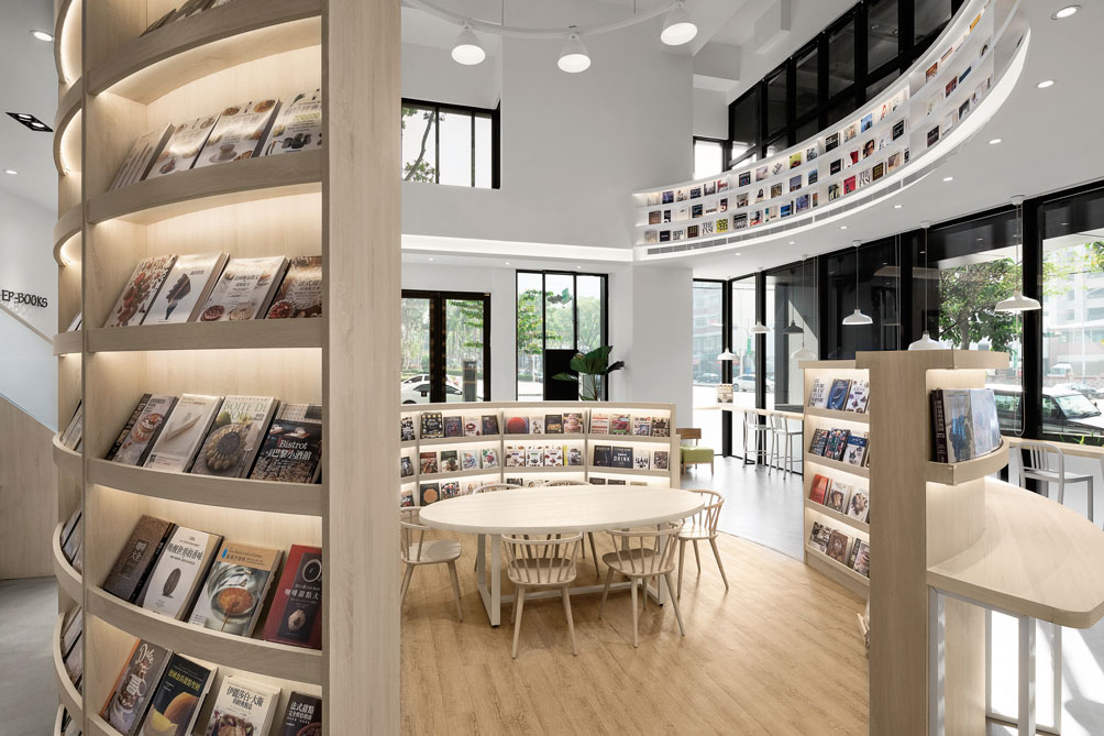 'EP-Books TAICHUNG' - Interior design | Homeyoung interior decorating and design Ltd | MUSE Awards
