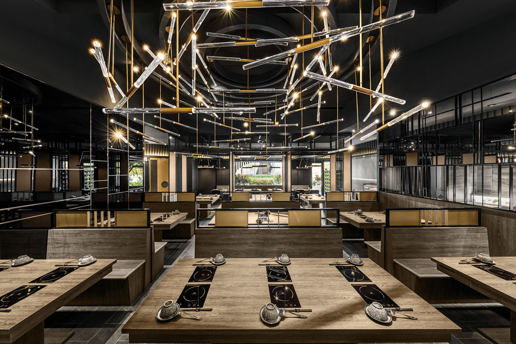 'Shiun shabu shabu and teppanyaki restaurant' - Interior design | Homeyoung interior decorating and design Ltd | MUSE Awards