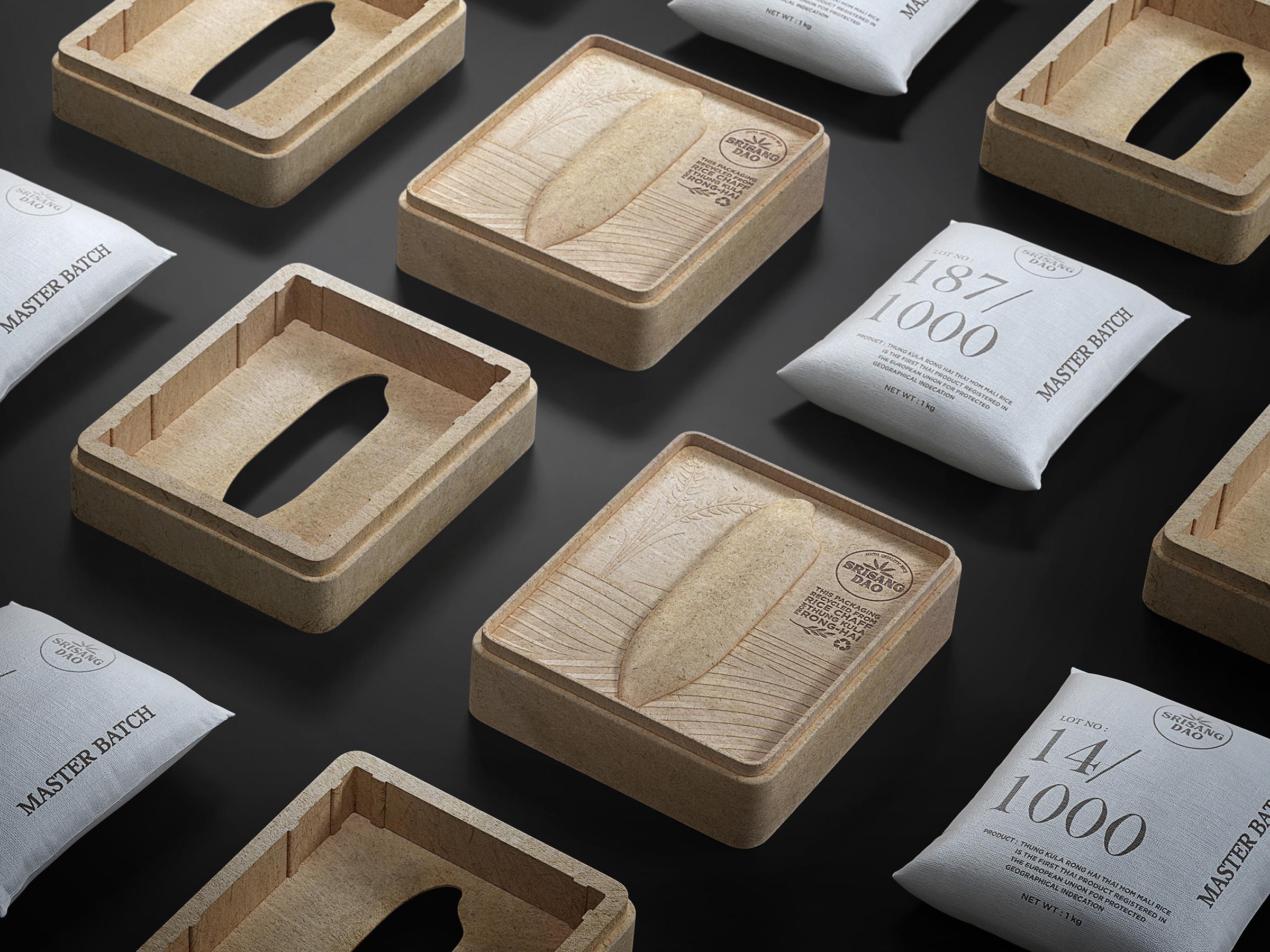 SRISANGDAO RICE | Packaging Design | MUSE Design Awards