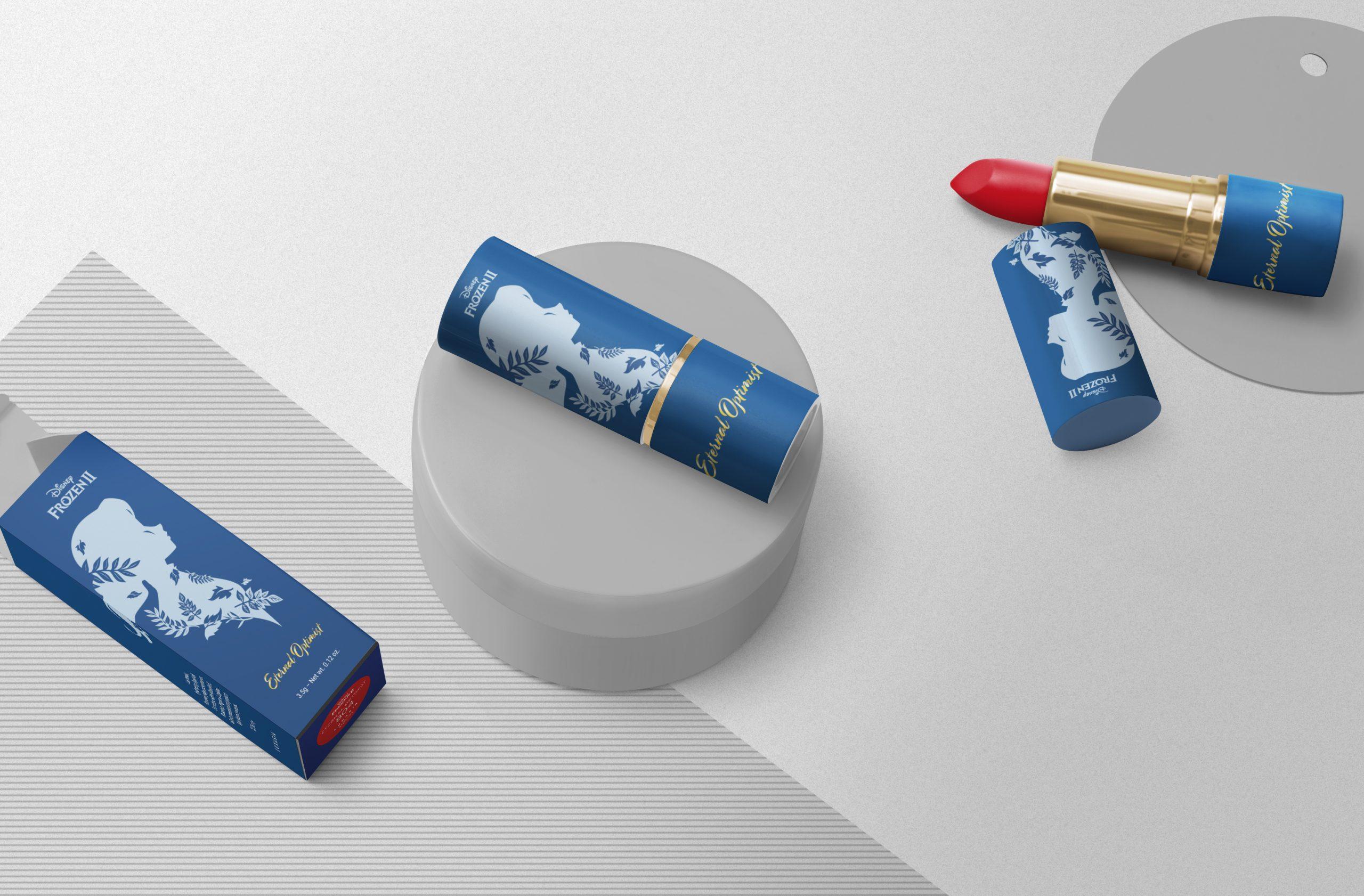 Disney Frozen lipstick | NOKUA Design | MUSE Design Awards