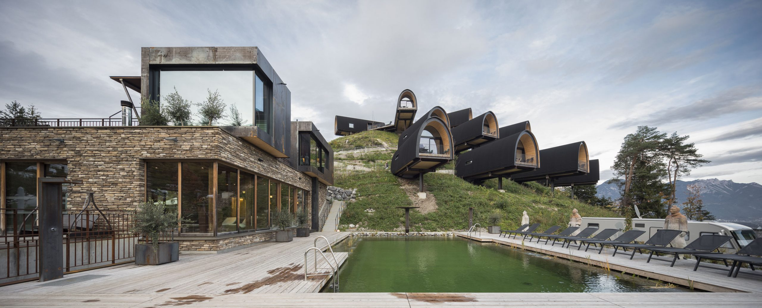 Alpencamping Nenzing | Best Architectural Designs | MUSE Design Awards