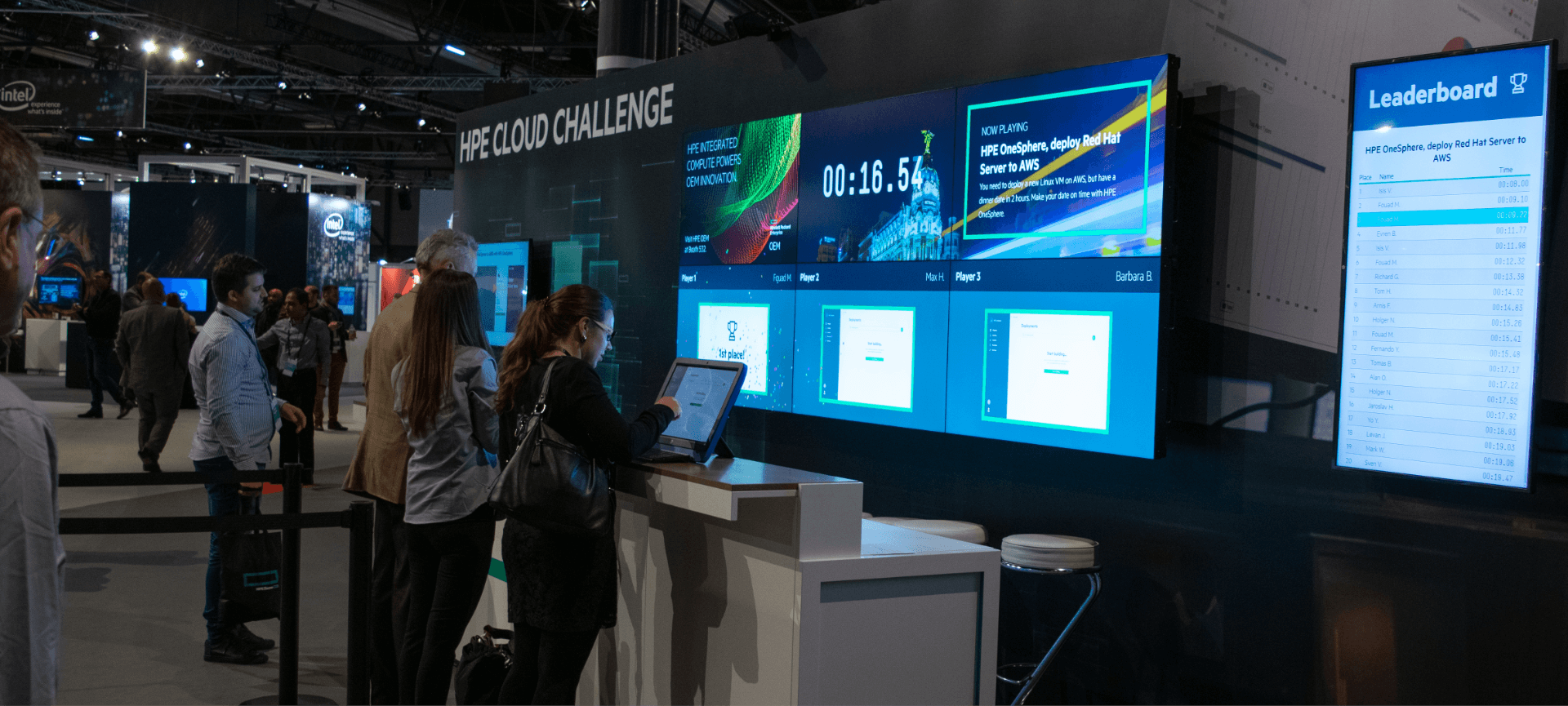 The HPE Challenge Event | Best Marketing Communications | NYX Marcom Awards