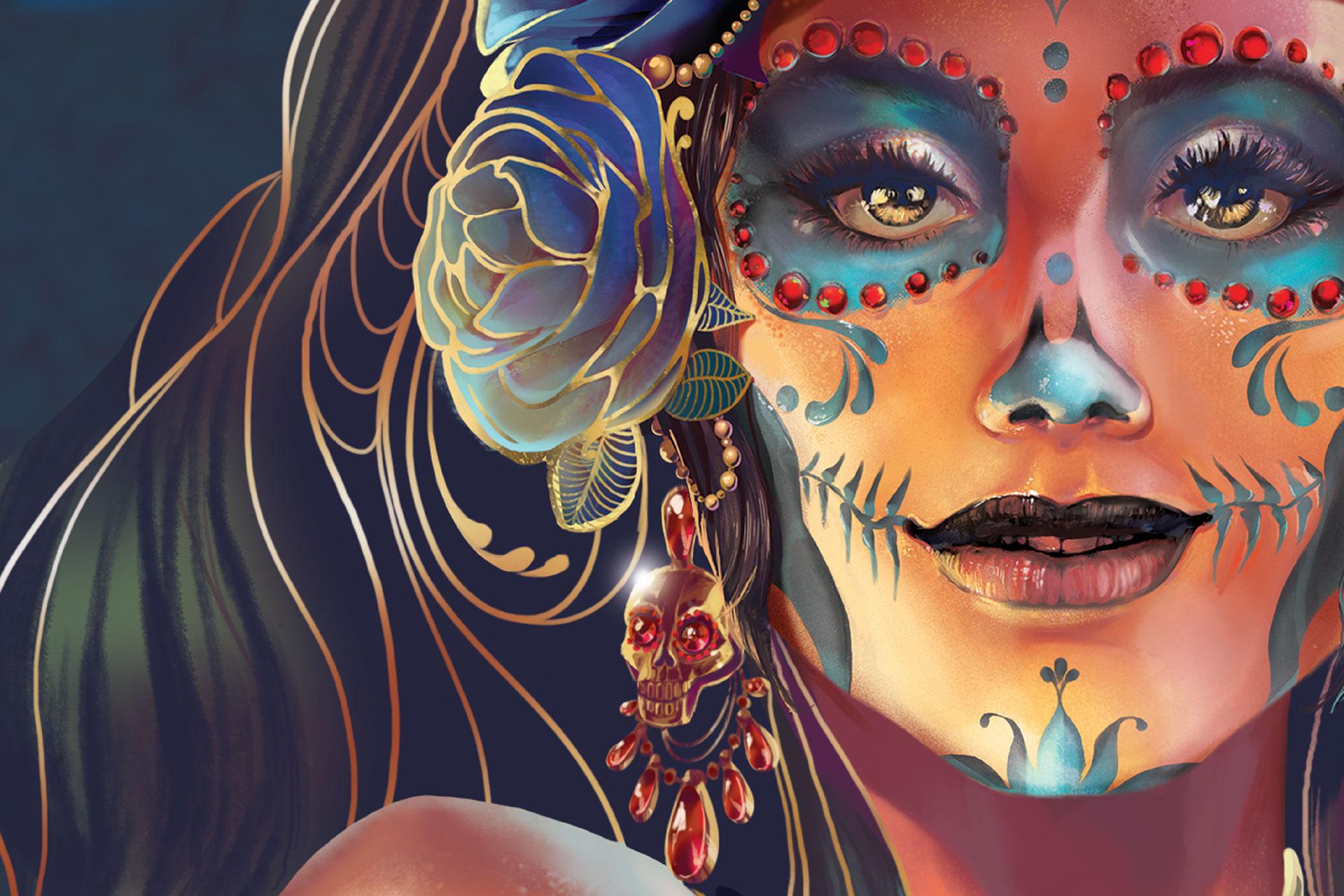 The Modelo Dias de los Muertos AR Mural | NYX Marcom Awards