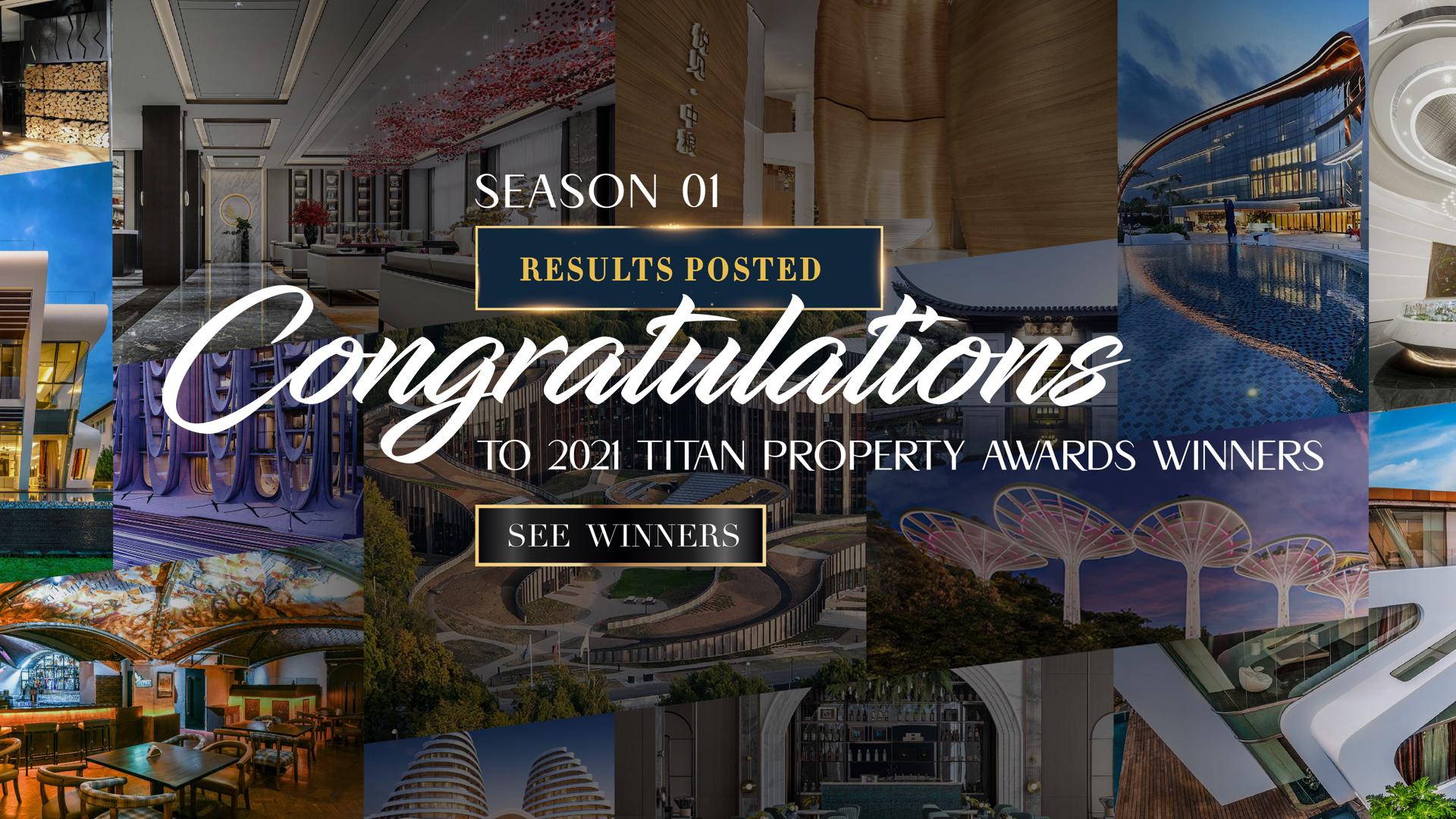 TITAN Property Awards Winners