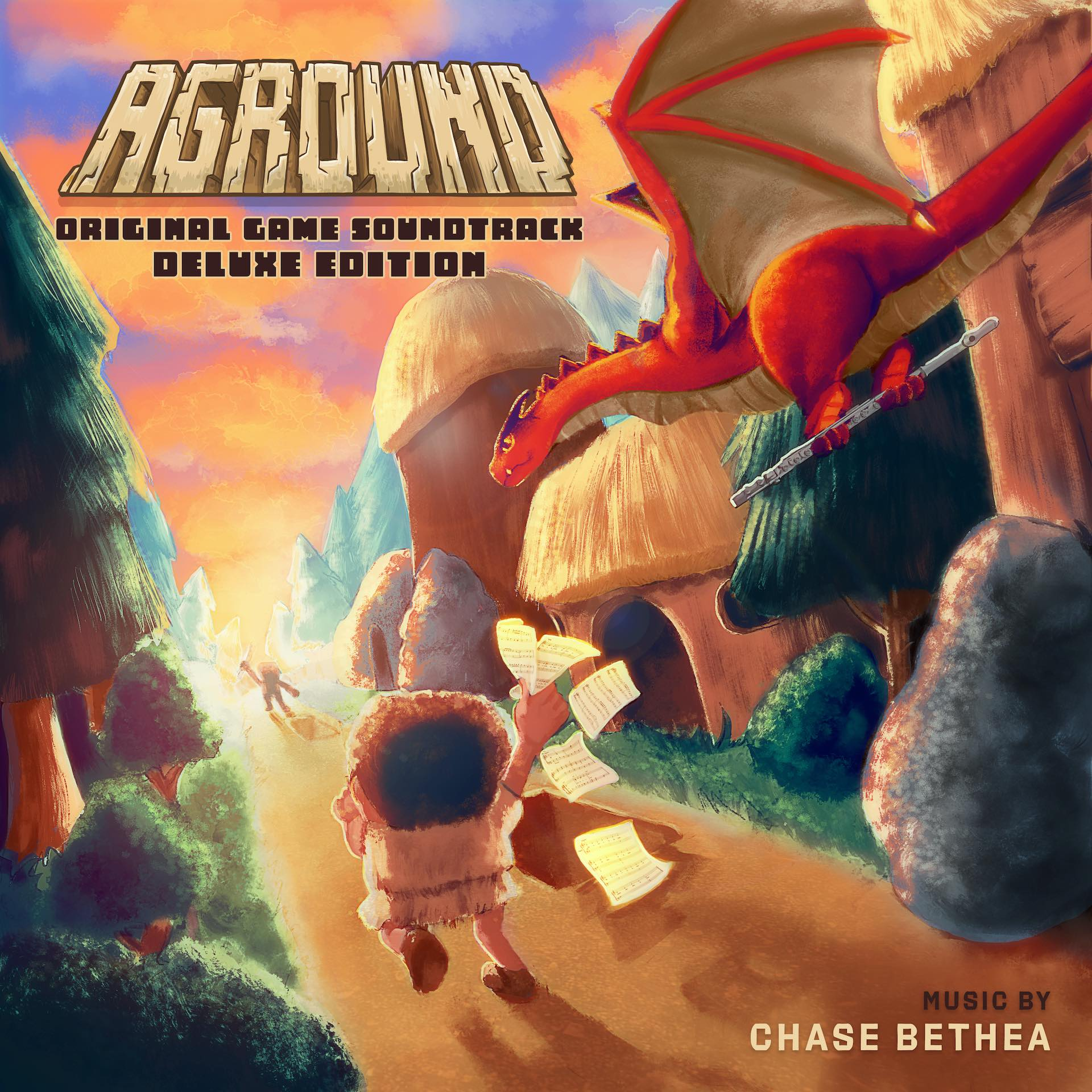 Aground Original Game Soundtrack Deluxe Edition Soundtrack | NYX Game Awards