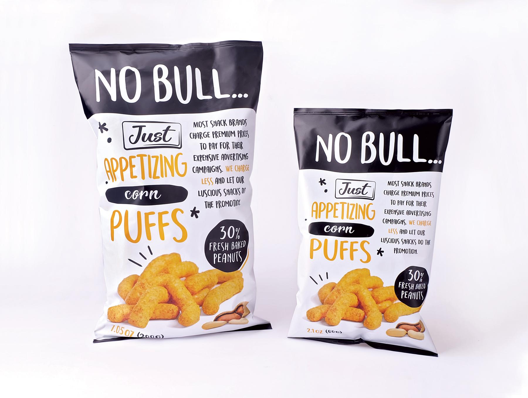 No Bull... Just Tasty Snacks!   MUSE Design Awards